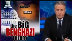 benghazi 'coverup' ripped by jon stewart as product of 'bulls*** mountain'