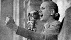 two eva perons to alternate title role in the raven's evita
