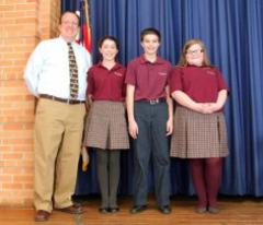 st. john's school in canton crowns spelling bee winners